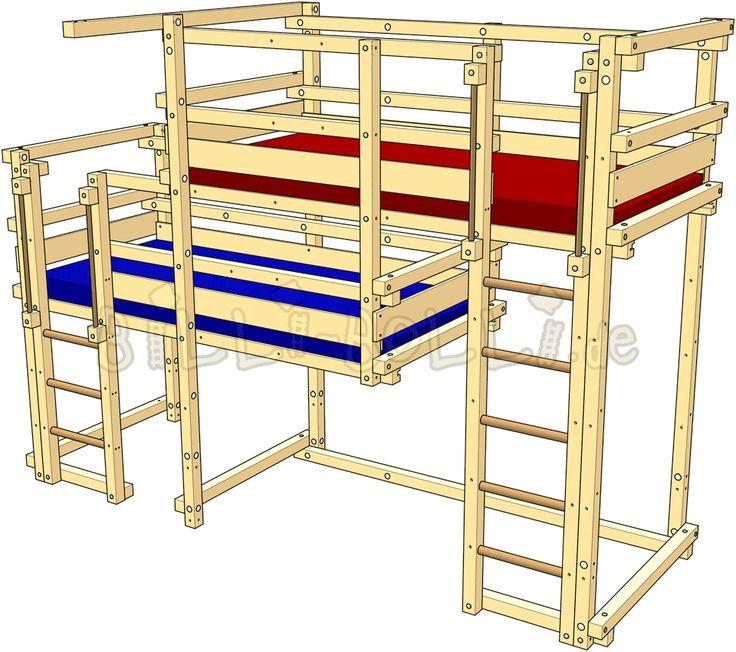Beide-oben-Betten, Typ 2B