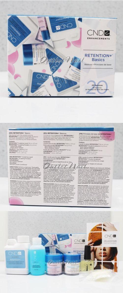 Nail Polish: Cnd Retention+ Basics Starter Pack Acrylic Nail Kit Enhancement Sculpting Powder -> BUY IT NOW ONLY: $41.94 on eBay!