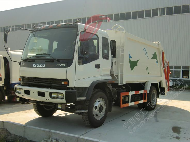 12cbm FVR Isuzu compressor garbage truck refuse collection vehicle