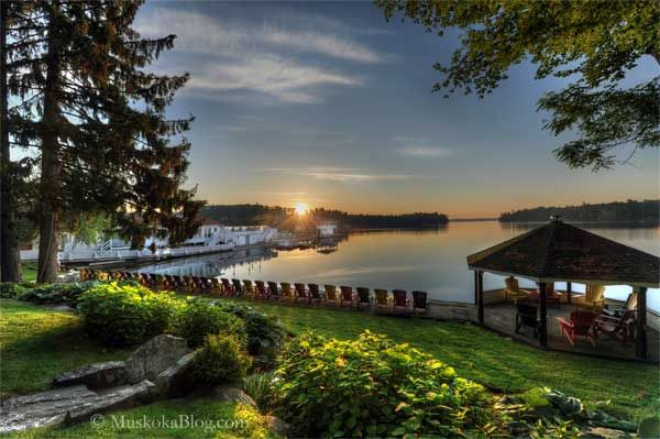 Cleves Wakeup Call (wonder if Clevelands House still has their weekly water-skiing show?) | Muskoka Blog