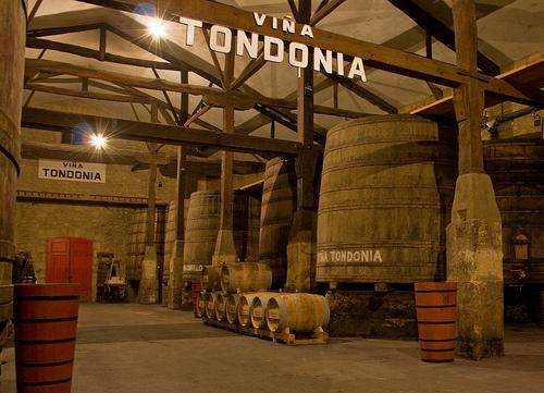 Viña Tondonia o lo que es lo mismo Bodegas R Lopez de Heredia, en Haro, Rioja Alta