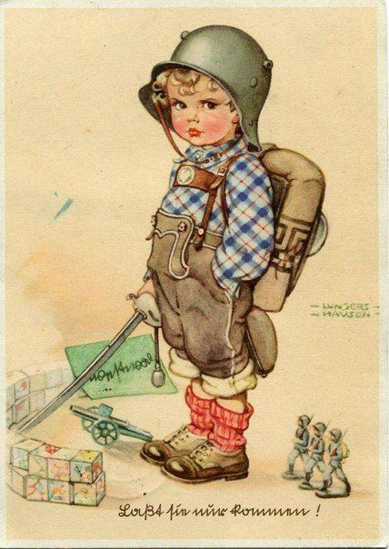 Винтажные открытки с днем рождения мужчине германия 40е, открытки