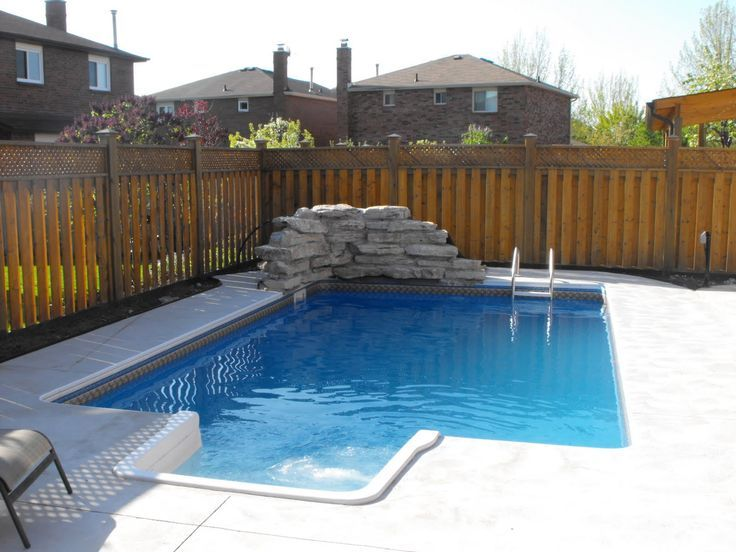 1486 best images about awesome inground pool designs on - Swimming pools for small backyards ...