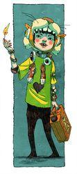 Jake Wyatt - Shiro from Tekkon Kinkreet
