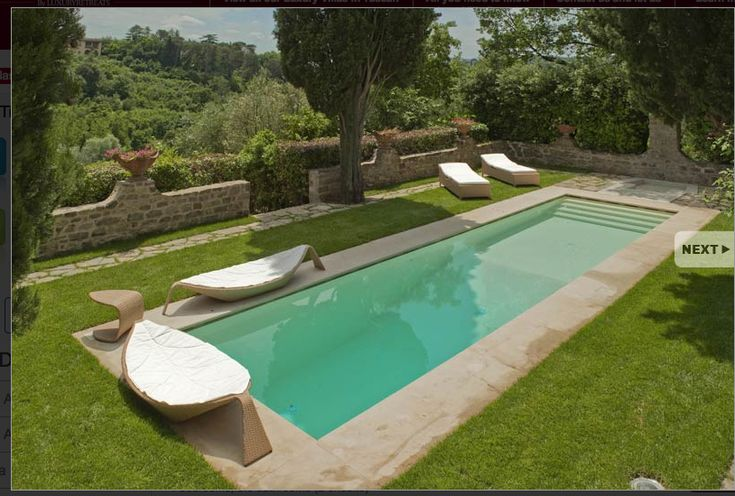 small modern pool | Backyard | Pinterest | Modern pools, Modern and Backyard