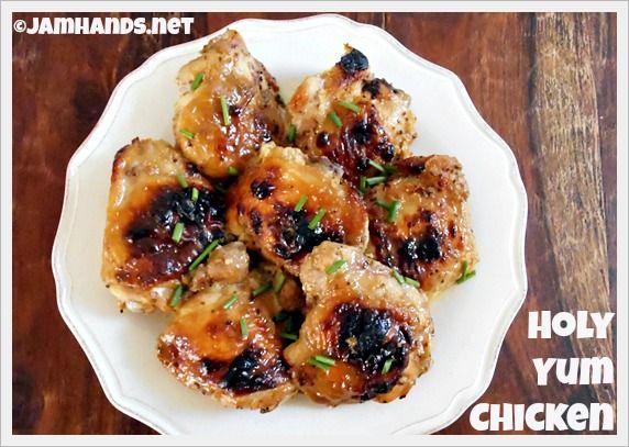 Jam Hands: Holy Yum Chicken