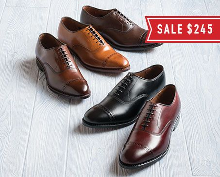 Allen Edmonds Rediscover America Sale - FIFTH AVENUE: SALE $245 (REG. $395) TIMELESS YET TIMELY