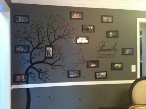 Customer Image Gallery for Family Like Branches On A Tree vinyl lettering wall sayings home art decor