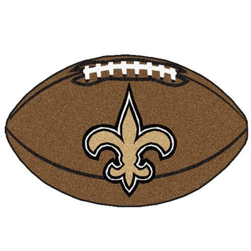 fanmats 5771 nfl new orleans saints football mat by fanmats your fellow football. Black Bedroom Furniture Sets. Home Design Ideas