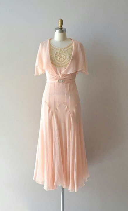1920's. I love love love this vintage dress!