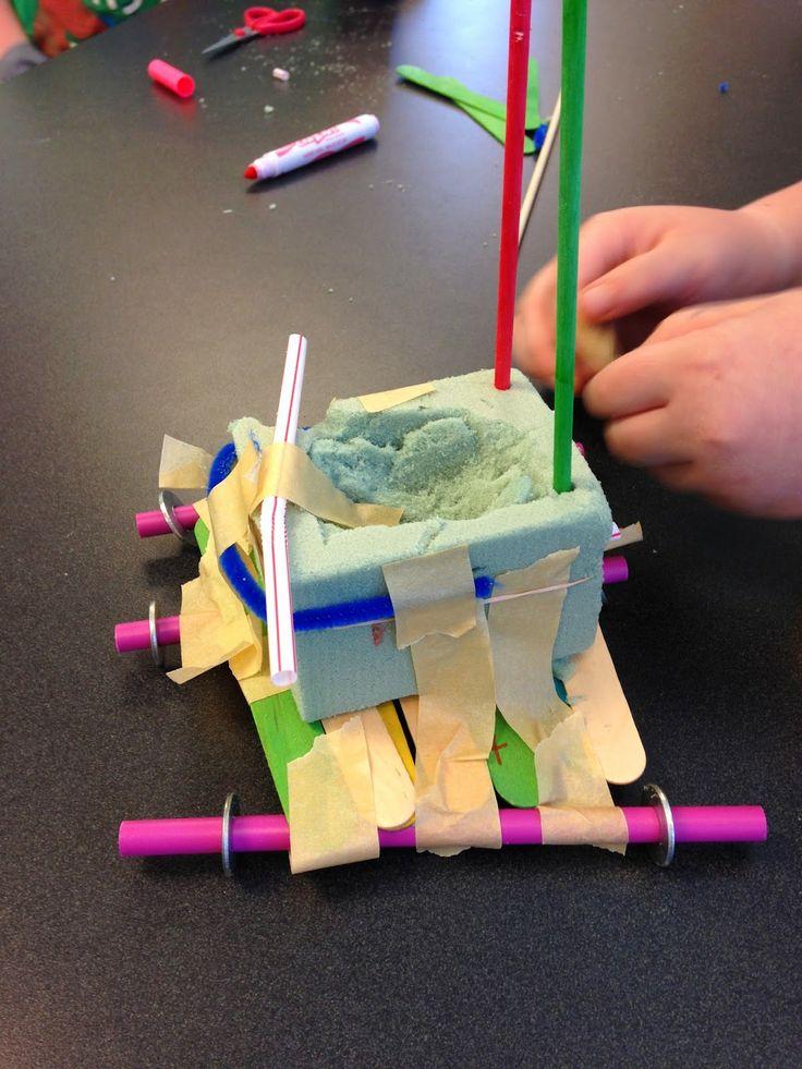 Build a car out of Junk! GREAT STEM Challenge! #STEM #Engineering #teacherspayteachers