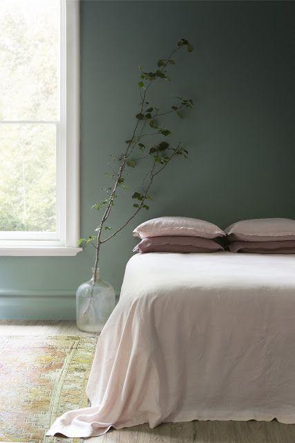 17 meilleures id es propos de vert de gris sur pinterest for Chambre vert de gris
