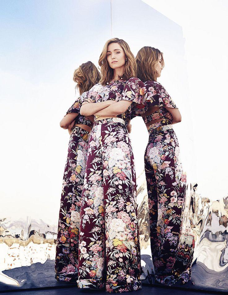 Роуз Бирн — Фотосессия для «Elle» AU 2014 – 5