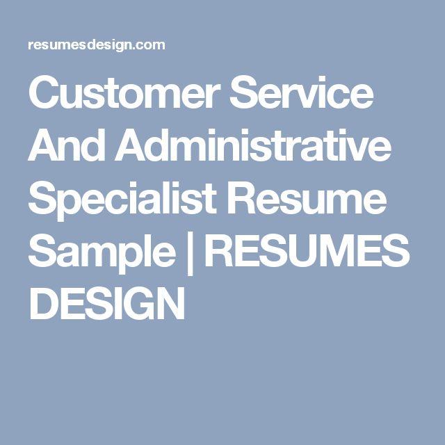 Ponad 25 najlepszych pomysłów na Pintereście na temat Customer - customer service specialist sample resume