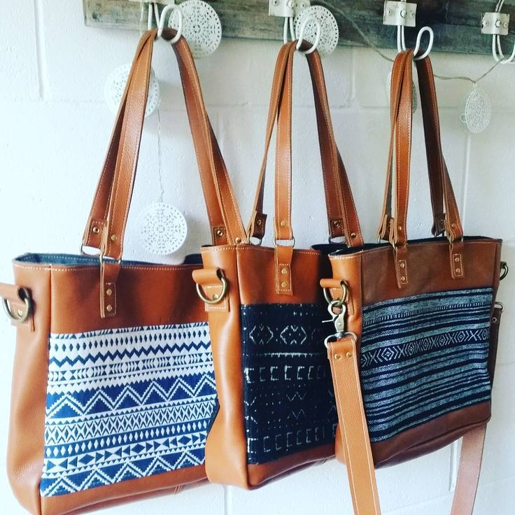 ➕➕Did you say three? Yes, there are three variations of the Aztec leather tote because the demand has been incredible. This busy girl will ensure they are up on the website tomorrow night. Link to collection in profile   . . . . . . . #ethicalfashion #ecofashion #mudcloth #bagaddict #baglover #ilovehandbags #bohopurse #bohostyle #bohobags #leatherbags #buydifferently #liveauthentic #xmasgift #christmasforher #leathertote #buydifferently #buyaustralian