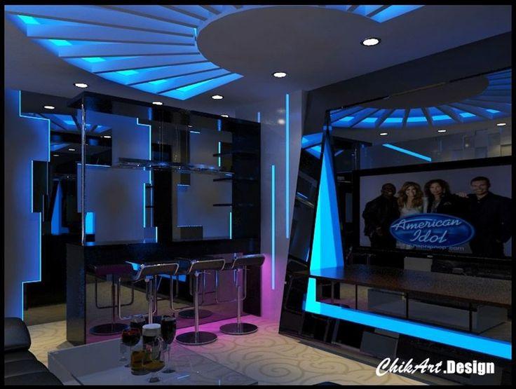 Karaoke Room Design Ideas
