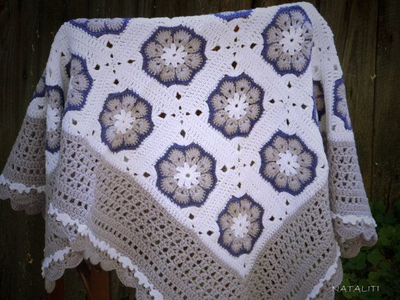 Baby blanket Cotton baby blanket Crochet Baby от OriginalKnitting