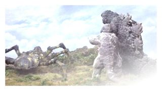 Tales of Terror presents Son of Godzilla (1967) ~ Scientists experimenting with weather control on a tropical island are attacked by giant i...