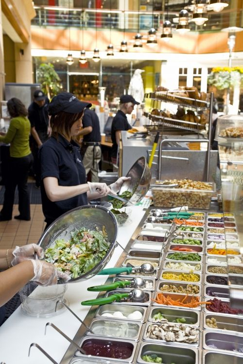 """Best salad bar in downtown Seattle."" Il Fornaio Restaurant, Pacific Place. More places like this are needed everywhere!"
