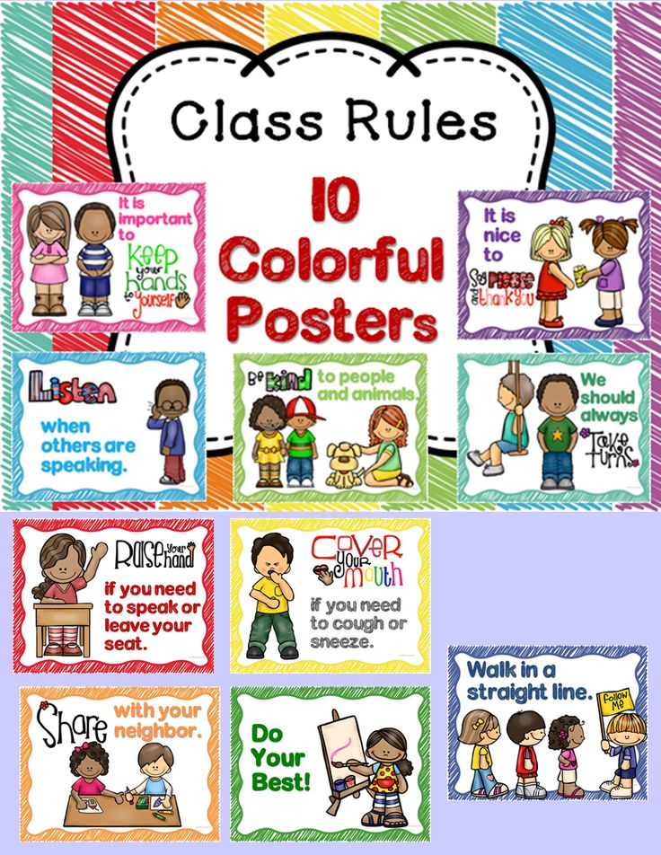 Class Rules and Manners with Student Book | Mouths, We and ...