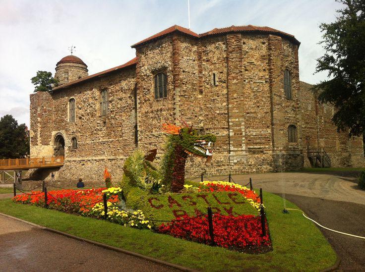 England - Colchester castle, 11th century