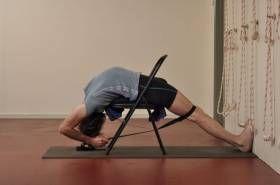 Viparita Dandasana: inverted staff pose