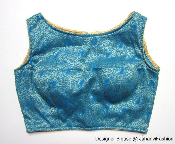 Readymade boat neck blouse  Saree Blouse with cotton based