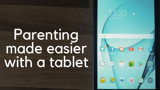 One Hull of a Dad: Parenting made easier with a tablet