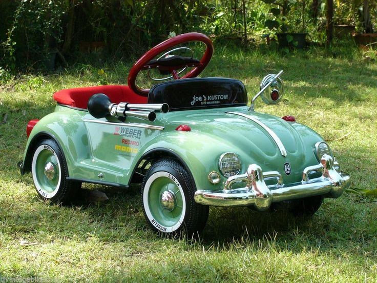 Vintage Pedal Car Refurbished Original Steelcraft Pedal Car