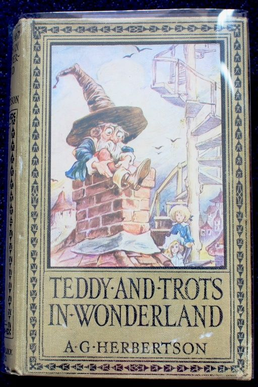 Front cover of book by Agnes Grozier Herbertson. Illustrations by Thomas Maybank