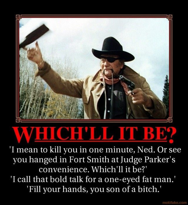 """Classic from """"True Grit"""""""
