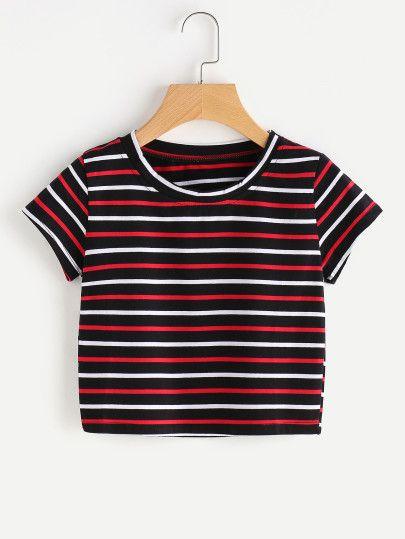 Camiseta de rayas