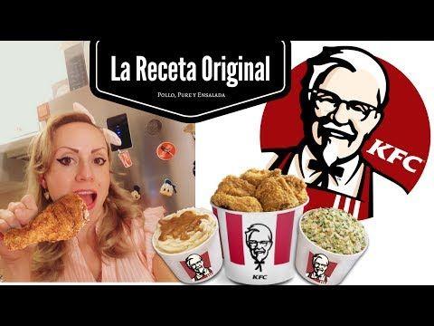 La verdadera receta secreta de pollo KFC y la receta CRUJIPOLLO - YouTube