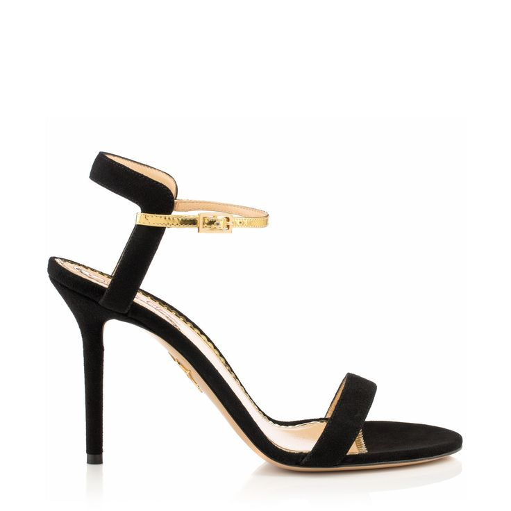 Give #GoodwillAndGoodShoes with the Quintessential sandal from Charlotte  Olympia
