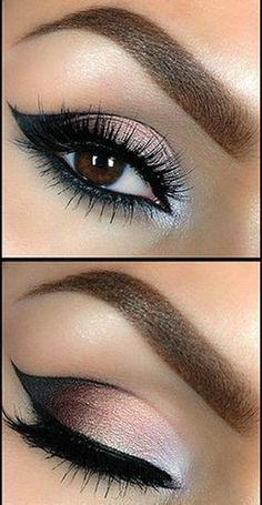 Tutorial: Beautiful Smokey Eye Makeup - Want to do it yourself? Click on the image for the Tutorial!: