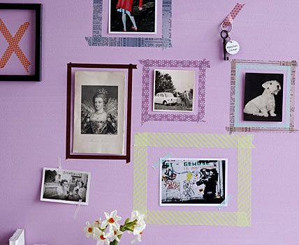 Ber Ideen Zu Washi Tape Frame Auf Pinterest Rahmen