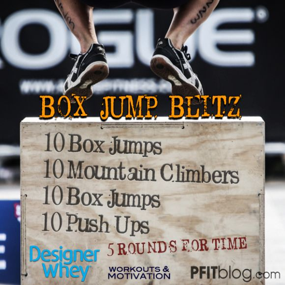 Box Jump Workout