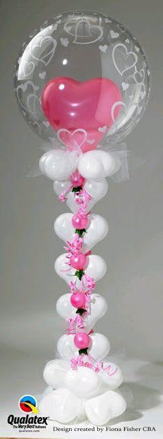 más y más manualidades: Hermosas decoraciones con globos transparentes