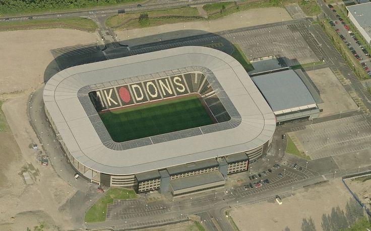 "MILTON /KEYNES ""STADIUM - MK"" 22.000 MILTON KEYNES DONS FC"