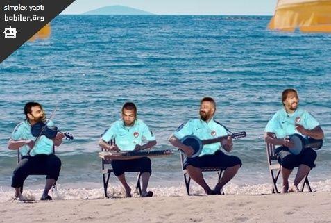 yedek klübesi plajda