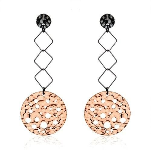 Made in Italy. Exquisite earrings beautifully designed in 14K gold plated 925 silver. Total item weight 6.4g. Length 60mm. HOTTEST deals at up to 99.9% DISCOUNTS   http://idealsmarter.perfectinter.net/?refid=31593e9f&PB_page=87