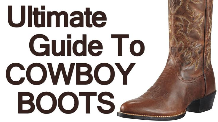 How To Wear Cowboy Boots | Ultimate Guide To The Western Boot | For Men