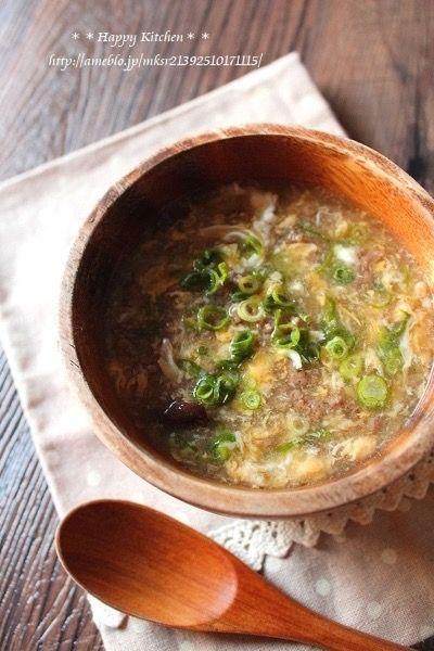 サンラータン風とろとろ卵スープ by たっきーママ | レシピサイト ...