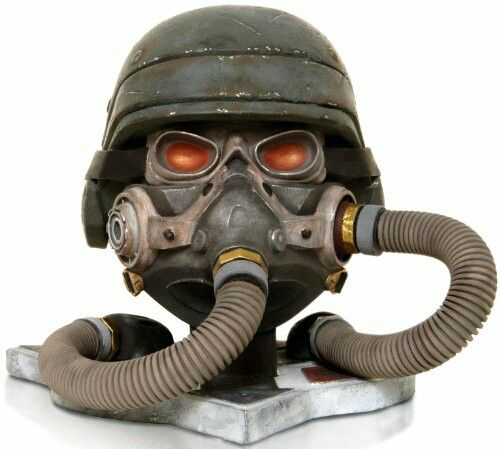 Killzone Helghast Solider Head Bust