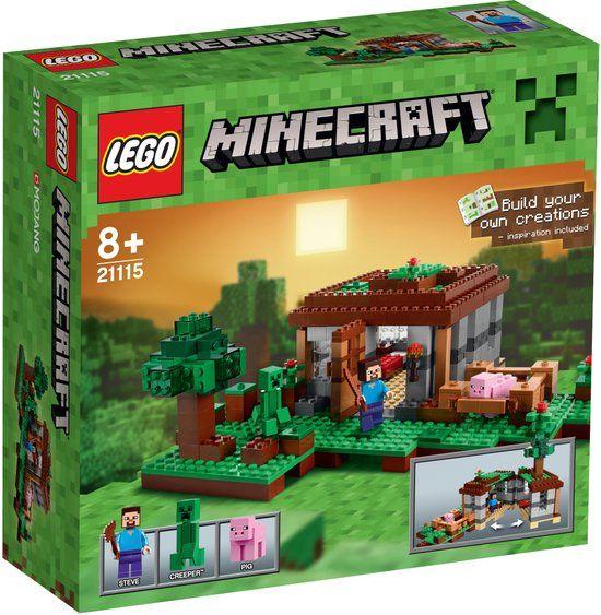 LEGO Minecraft De Eerste Nacht - 21115