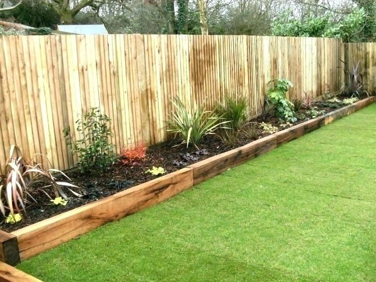Unique Garden Border Ideas Landscape Border Ideas Cheap Garden