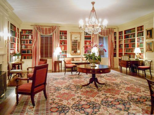The President Of The USAu0027s Library At The White House, Washington DC, ...