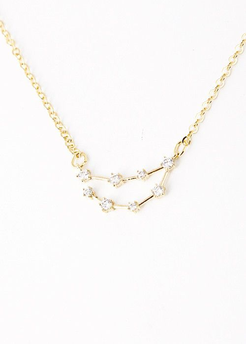 Capricorn Constellation Zodiac Necklace (12/23-01/20) - As seen in Rea - My Jewel Candy