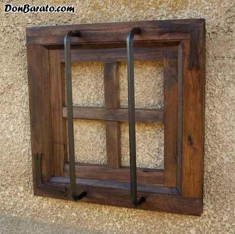 Las 25 mejores ideas sobre ventanas r sticas en pinterest - Como hacer una puerta rustica ...