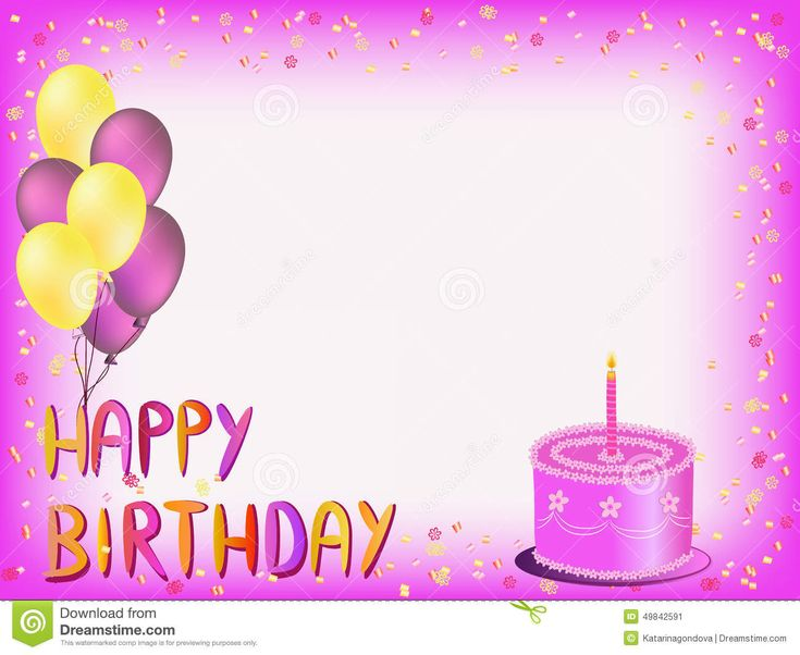 Happy Birthday Cake Greeting Cards Images